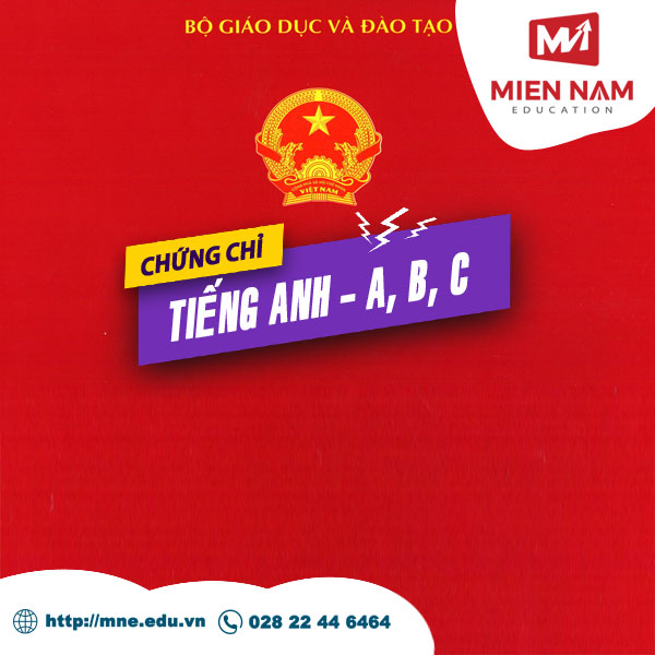 Chung chi Tieng Anh Quoc gia MIENNAM Education